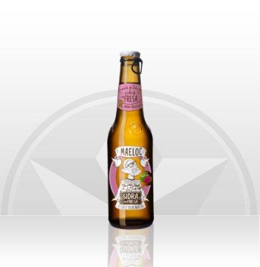 Maeloc Cider Strawberry flavour